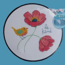 Cross-stitch kit for adults - Be Kind
