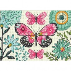 Cross-stitch kit for adults - Butterfly Dream