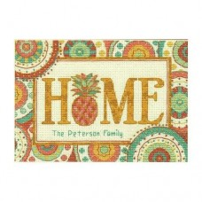 Cross-stitch kit for adults - Pineapple Home