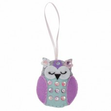 Sewing kit for children  - Spring Owl