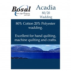 Bosal Acadia wadding - large pack