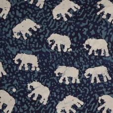 John Louden Batik - Elephants, per metre
