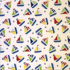 Inprint by Jane Makower - Sail Boats (per metre)