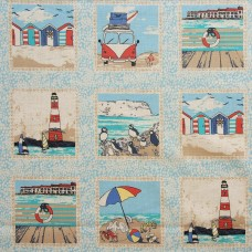 Inprint by Jane Makower - Camper Vans & Puffins sample
