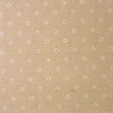 Linen mix craft fabric Daisy - per metre