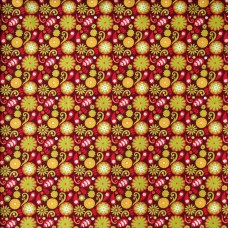 Fabric Freedom - Funky Flowers 104/2 (per metre)
