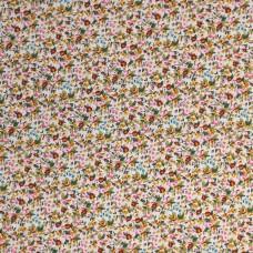 Floral cotton - Rose (per metre)