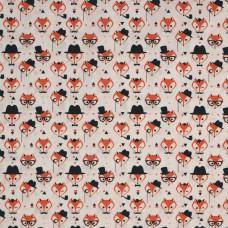 Rose & Hubble cotton poplin Fox - per metre