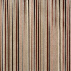 Linen look fabric per metre - Stripes