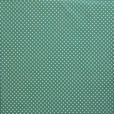 Cotton spot ice green - per metre