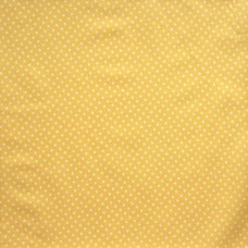 Cotton spot lemon - per metre