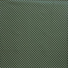 Cotton spot old green - per metre