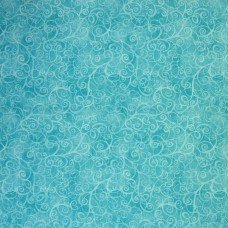 Timeless Treasures - Turquoise Breeze sample