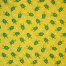 Timeless Treasures - Green Turtles sample