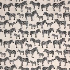 Rose & Hubble cotton poplin Zebras - per metre