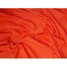Fabric Freedom plain - hot tomato, sample