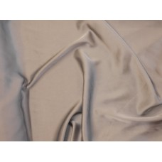 Silky satin dress lining, polyester - grey