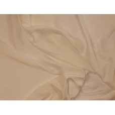 Silky satin dress lining, polyester - ivory