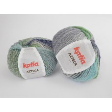 Katia Azteca - 7863 green blue