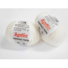 Katia Merino 100% - 3 off white