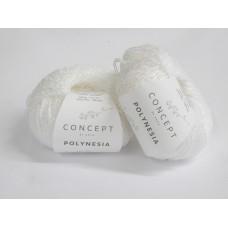 Katia Polynesia cotton / linen mix - 60 white