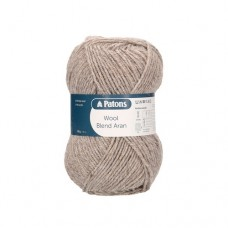 Patons Wool Blend Aran - 011 beige