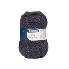 Patons Wool Blend Aran - 053 airforce