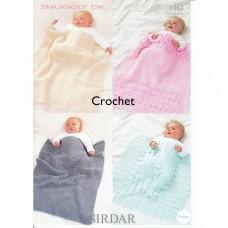 Sirdar crochet pattern 1342