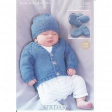 Sirdar knitting pattern Snuggly DK 1365