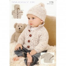 Sirdar knitting pattern Snuggly DK 1776