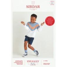 Sirdar knitting pattern Snuggly Replay DK 2531