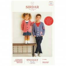 Sirdar knitting pattern Snuggly Replay DK 2535