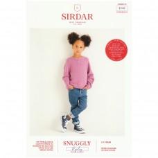 Sirdar knitting pattern Snuggly Replay DK 2540