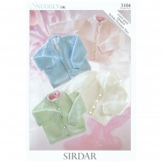 Sirdar knitting pattern Snuggly DK 3104