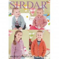 Sirdar knitting pattern Snuggly Doodle DK 4926
