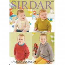 Sirdar knitting pattern Snuggly Doodle DK 4927