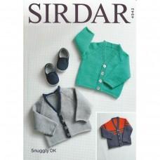 Sirdar knitting pattern Snuggly DK 4942