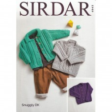 Sirdar knitting pattern Snuggly DK 4943