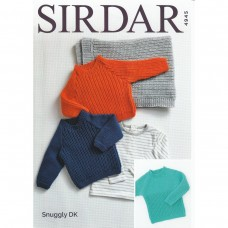 Sirdar knitting pattern Snuggly DK 4945