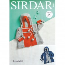 Sirdar knitting pattern Snuggly DK 4947